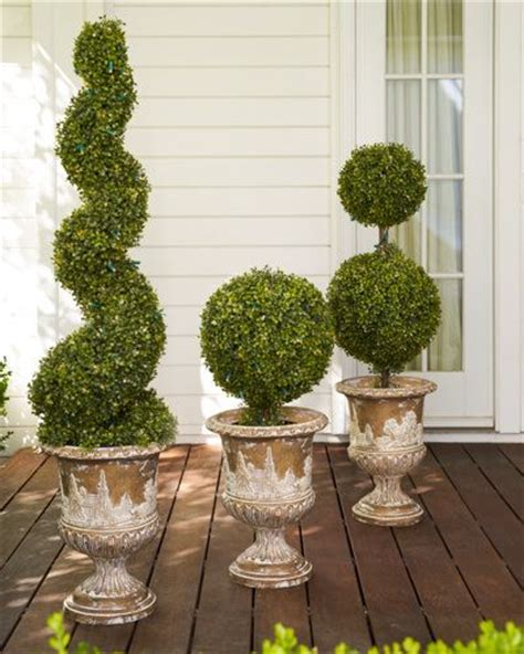 pre lit topiaries 30 best images about topiary trees on wedding