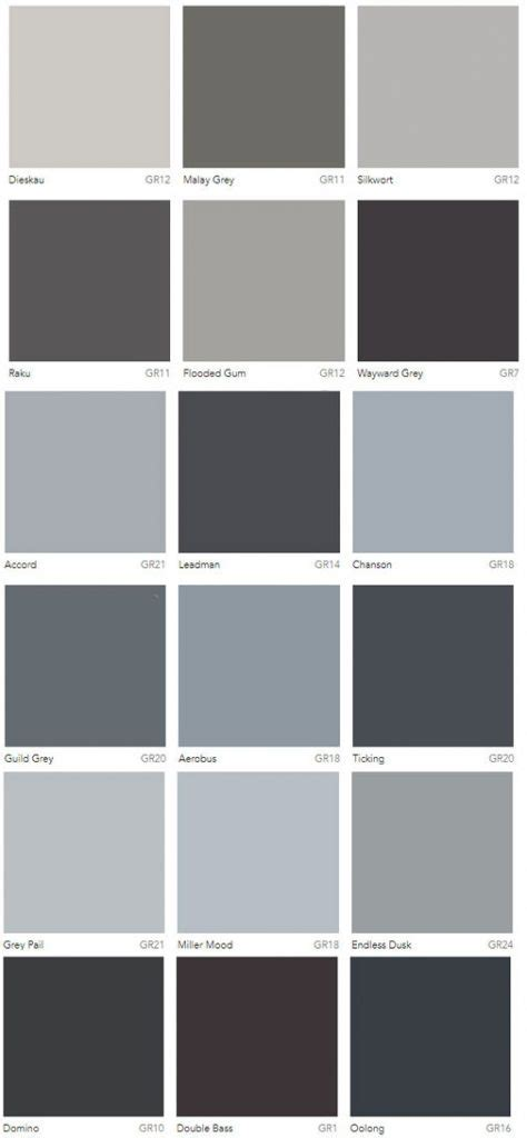 colors of grey grey colour charts dulux australia interiors by color