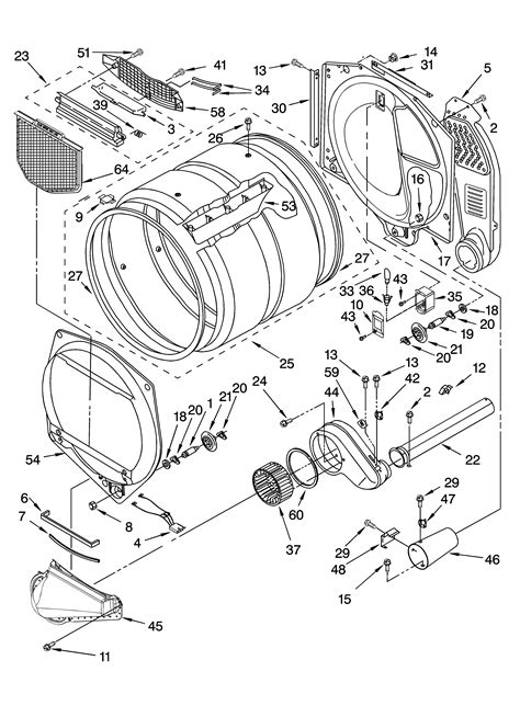 kenmore elite washer parts diagram kenmore elite gas dryer gas wont kick on