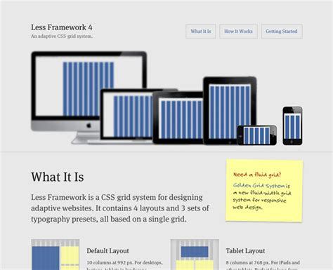 html responsive design framework the ultimate responsive web design roundup science and