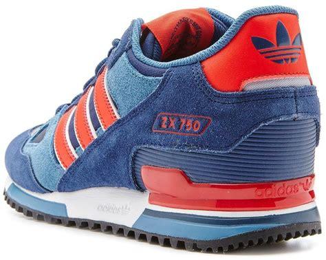 adidas originals s zx 750 trainers navy blue m18260 ebay