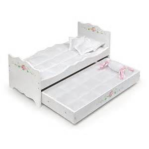 toys r us doll bed white rose doll bed with trundle toys quot r quot us