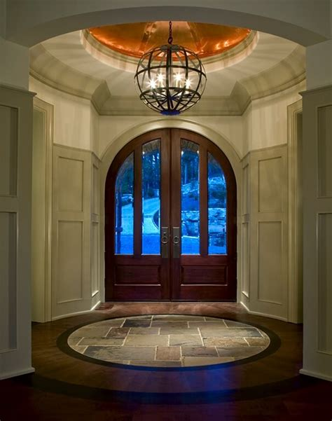 circular entryway 33 gorgeous foyers with wainscoting