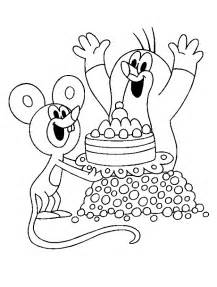 coloring books mole mouse print free download
