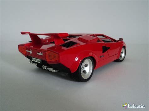 Bburago Lamborghini Countach 1 18 Bburago Lamborghini Countach 1988 Rojo Kolectia
