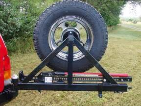 rock rear bumper and tire carrier jeep xj