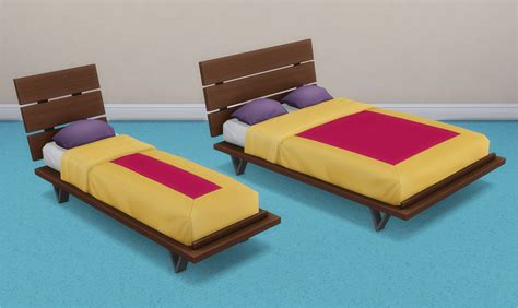futon bed frames my sims 4 futon bed frames and mattresses by veranka