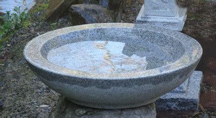 Gartenzubehã R Kaufen by Granit Schale Bambus Und Pflanzenshop