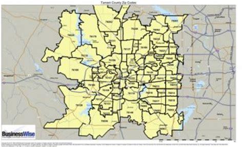zip code map tarrant county tarrant county zip code map zip code map
