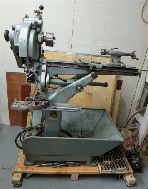 Combination Lathe Amp Milling Machine By Meyer And Burger Of