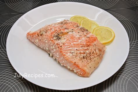 simple oven cooked salmon filet recipe july recipes
