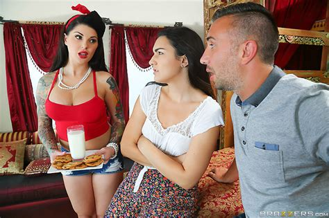 sharing daughters brazzers tattooed babe darling danika takes a hard pounding 1 of 2