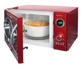 Nostalgia Electrics Toaster Rmo400red 50s Style 0 9 Cu Ft Microwave Nostalgia