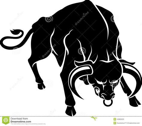 Bull Rage Bull Rage Stock Illustration Image 43983223