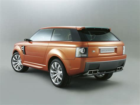 land rover sedan concept concepts and prototypes range stormer 2004 aronline