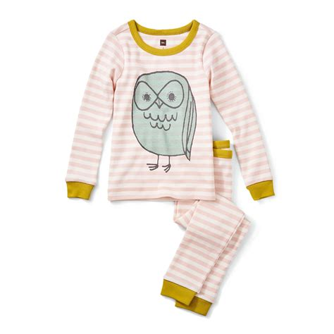 tea pajamas owl pajamas tea collection