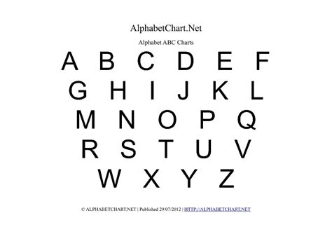 abcd cards template uppercase alphabet charts in pdf normal bold italic