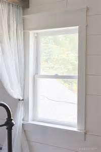 Trim Around Windows Inspiration Farmhouse Window Trim Beautiful An And Wood Trim