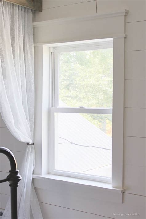 Trim Around Windows Inspiration Farmhouse Window Trim Window Learning And Window Trims