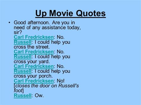 film up quotes russell from up quotes quotesgram