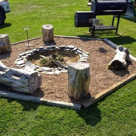 cheap pit seating ideas the backyard pit and seating idea outdoor areas