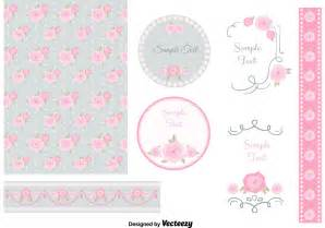 shabby chic design elements download free vector art stock graphics images