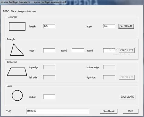 square feet calc square footage calculator download