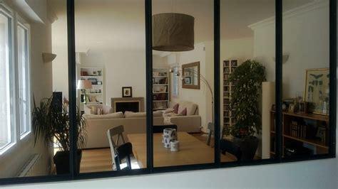 Salle De Bains Deco 4254 by Salon Avec Verriere D Atelier Photo 1 9 Une Verriere D