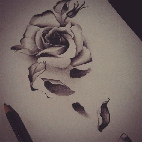 dead roses tattoos dead flower designs 1000 ideas about wrist