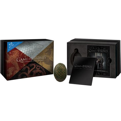 game of thrones gifts game of thrones season 1 gift set blu ray zavvi com