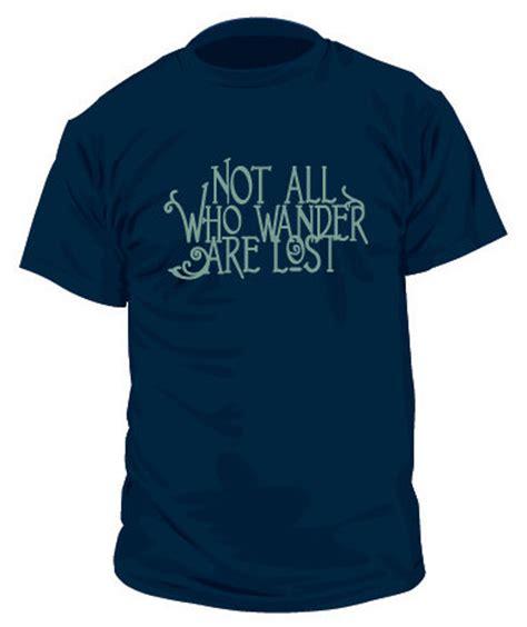 T Shirt Mens Cloud Nine not all who wander t shirt mens v neck 79314