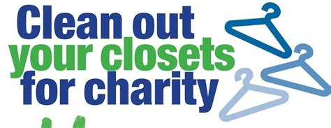 clean out your closet clean out your closet for charity pay it forward