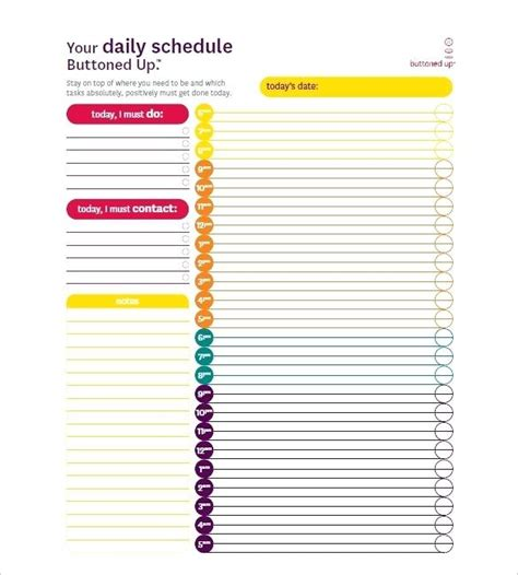 printable hourly planner 2014 daily calendar template excel download the blank calendar