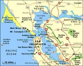map of california san francisco area san francisco 171 my light