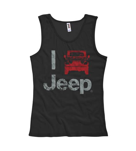 jeep tank top all things jeep quot i jeep quot women s tank top black