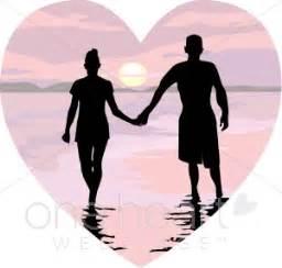 Wedding Invitations With Response Cards Walk On Beach Clipart Honeymoon Clipart