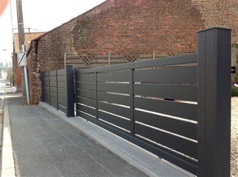 brise vue bois 222 portail coulissant maez et palissade portails