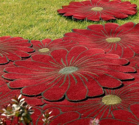 tappeti floreali tappeto floreale ideare casa
