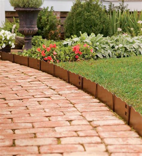 bordures plastique pour jardin bordures de jardin 40 id 233 es sur les designs les plus r 233 pandus