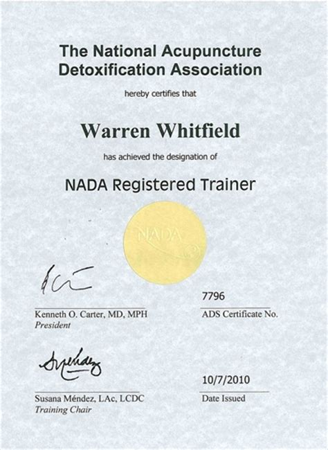 National Detox Nada by About Acudetox Centre South Africa Acudetox Clinics