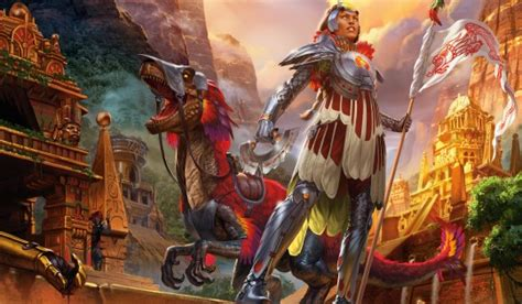 the of magic the gathering ixalan books magic the gathering rivals of ixalan adavance artwork