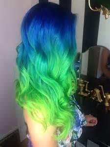 blue green hair color best 20 neon hair ideas on neon hair color