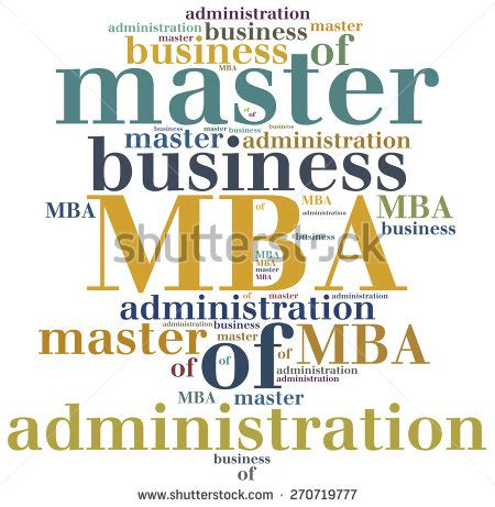 Teaching With Mba by Mba Master Of Business Administration Education Concept