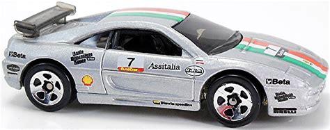 Hotwheels F355 Challenge 1999 Silver 1 f355 challenge 68mm 1999 wheels newsletter