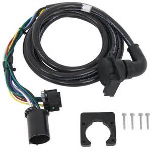 5th wheel gooseneck 90 degree wiring harness w 7 pole gm ford ram toyota 9