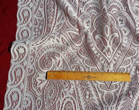 lace curtain fabric lace curtain fabric yardage nineteenth century