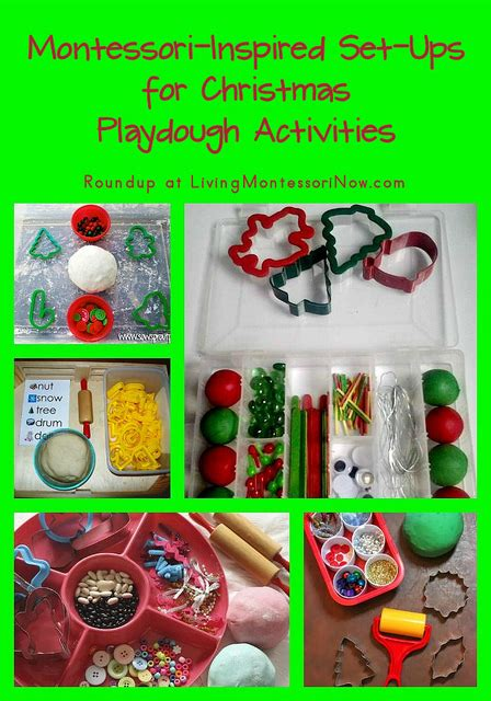 new year playdough activities montessori inspired set ups for playdough activities