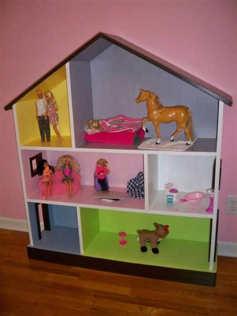 homemade dolls house homemade dollhouse bookcase dolls house ideas pinterest