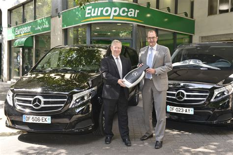 Gebrauchtwagen Europcar by Europcar 252 Bernimmt 175 Mercedes V Klasse