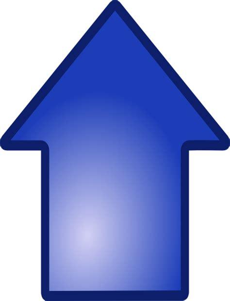 bid up big blue up arrow clip at clker vector clip